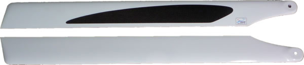 SWE Semi-Symmetrical Carbon Fiber 690mm Main Rotor Blade 690DCN